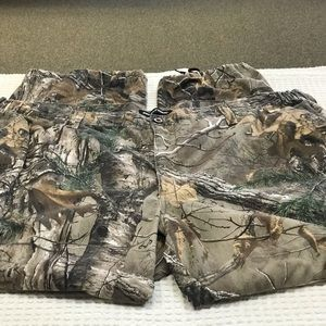 Realtree Men Pant Cargo Camouflage Hunting Size 48
